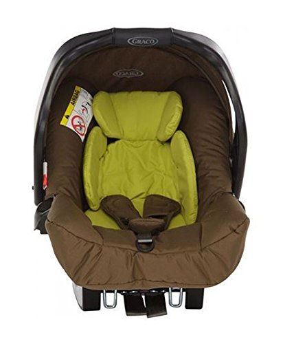 Graco Carseats Junior Baby Zigzag (Olive Lime/Brown)