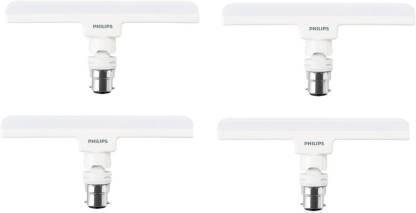 Philips 10 W T-Bulb B22 LED Bulb  (White, Pack of 4)