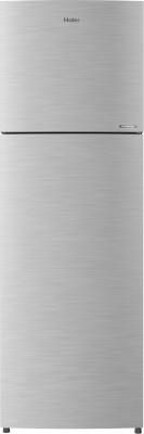 Haier 258 L Frost Free Double Door 3 Star (2020) Convertible Refrigerator(Dazzle Steel, HEF-25TDS)