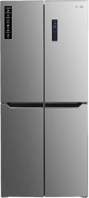 MarQ by Flipkart 472 L Frost Free Multi-Door Refrigerator(Silver Steel, 472GFDMQS)