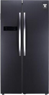 Panasonic 584 L Frost Free Side by Side (2019) Refrigerator(Dark Grey Steel, NR-BS60MHX1)