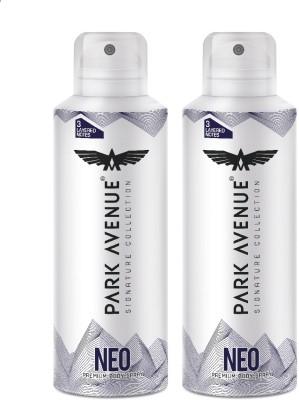 PARK AVENUE Signature Deo Neo Deodorant Spray - For Men & Women(300 ml, Pack of 2)